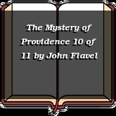 The Mystery of Providence 10 of 11