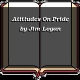 Attitudes On Pride