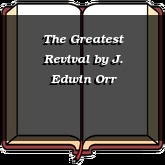 The Greatest Revival