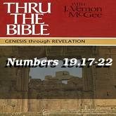 Numbers 19.17-22