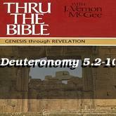 Deuteronomy 5.2-10