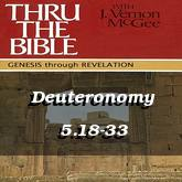 Deuteronomy 5.18-33