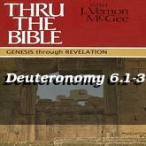 Deuteronomy 6.1-3