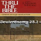 Deuteronomy 25.1-4