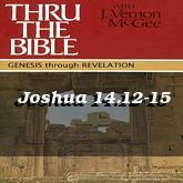 Joshua 14.12-15