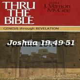 Joshua 19.49-51