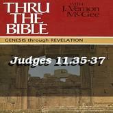 Judges 11.35-37