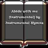 Abide with me (instrumental)