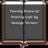 Twenty Years of Family Life