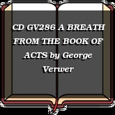 CD GV286 A BREATH FROM THE BOOK OF ACTS