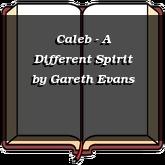 Caleb - A Different Spirit