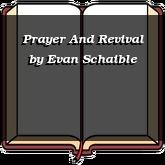 Prayer And Revival
