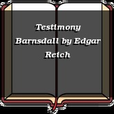 Testimony Barnsdall