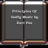Principles Of Godly Music