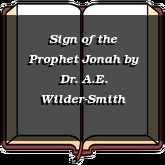 Sign of the Prophet Jonah