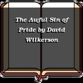 The Awful Sin of Pride