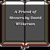 A Friend of Sinners