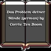 Das Problem deiner Sünde (german)
