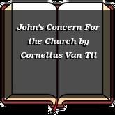 John's Concern For the Church