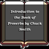 Introduction to the Book of Proverbs