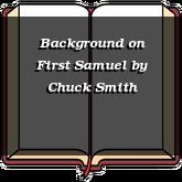 Background on First Samuel
