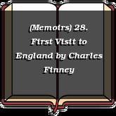 (Memoirs) 28. First Visit to England