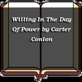 Willing In The Day Of Power