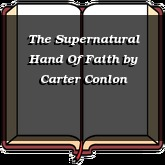 The Supernatural Hand Of Faith