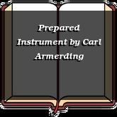 Prepared Instrument