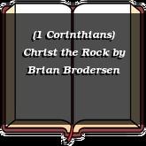 (1 Corinthians) Christ the Rock