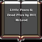 Little Foxes & Dead Flies