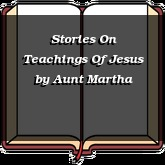 Stories On Teachings Of Jesus