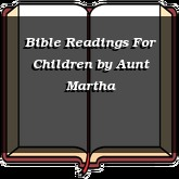 Bible Readings For Children
