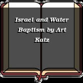 Israel and Water Baptism
