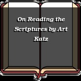 On Reading the Scriptures