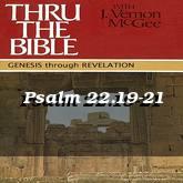 Psalm 22.19-21