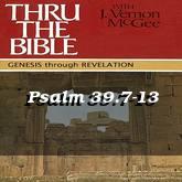 Psalm 39.7-13