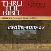 Psalm 40.6-17
