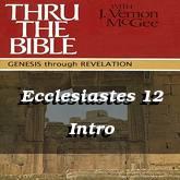 Ecclesiastes 12 Intro