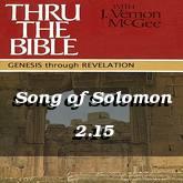 Song of Solomon 2.15
