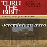 Jeremiah 20 Intro