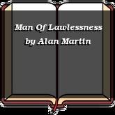 Man Of Lawlessness