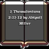 1 Thessalonians 2:11-12
