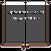 Ephesians 1:21