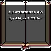 2 Corinthians 4:5
