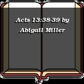 Acts 13:38-39