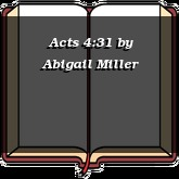 Acts 4:31