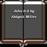 John 6:2