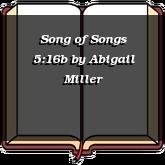 Song of Songs 5:16b