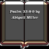Psalm 33:8-9